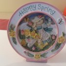 Avon Happy Spring Figurine Plays Easter Bonnet