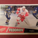 1995-96 UD COLLECTOR`S CHOICE # 80 SERGEI FEDOROV