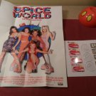 Lot of Spice Girls Poster and accessorys