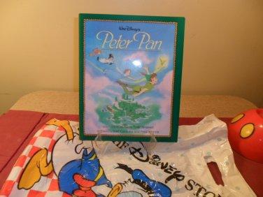 1994 Walt Disney Peter Pan Story Book Mint
