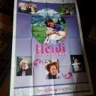 Large Vintage Disney Movie Poster Heidi