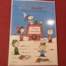 MIP Vintage Hallmark Holiday Greetings From The Peanuts Gang