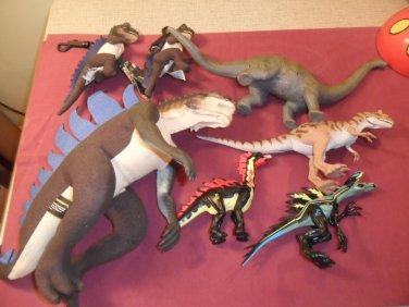 Vintage Lot of 1998 Godzilla Toys and Dino