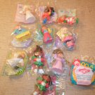 1992 Lot of 11 Cabbage Patch Kids Happy Meal Toys