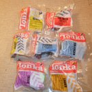 1994 Lot of 7 McDonald's Tonka Happy Meal Toys