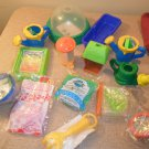 1993 Lot Of McDonald's Happy Meal Toys Earth Days, Natures Helpers, Nature's Watch