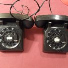 Vintage Brumberger Dial Phone Set Toy Phones