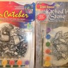 Lot of 2 Craft House Etched In Stone and Sun Catcher paint kits
