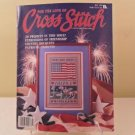 JULY 1989 FOR THE LOVE OF CROSS STITCH BOOK 20 PROJECTS