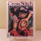 NOV/DEC 1990 CROSS STITCH AND CUNTRY CRAFTS BOOK COLLECTORS PLATE