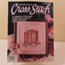 MARCH 1990 FOR THE LOVE OF CROSS STITCH 24 PROJECTS BOOK