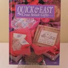 1991 QUICK & EASY CROSS STITCH GIFTS HARDCOVER BOOK