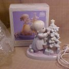 1993 MIB PRECIOUS MOMENTS PORCELAIN NIGHT LIGHT ENESCO