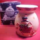 NIB CHESAPEAKE BAY COLLECTIBLE SNOWMAN POTPOURRI BURNER