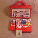 VINTAGE WOOLWORTH COLLECTOR CASE WITH CRAYONS MINT