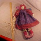 "NWT HOUSE OF LLOYD'S RAGGEDY ANGEL 20"" TALL CLOTH ANGEL"