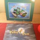 Disney Store Exclusive Commemorative Lithograph Peter Pan Mint