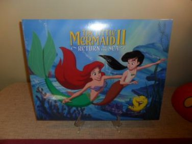 Mint Disney Exclusive Little Mermaid 2 Return To The Sea Lithograph Portfolio