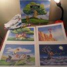 1997 Disney store Pooh's Grand Adventure Exclusive Lithograph Portfolio