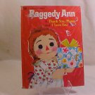 1978 RAGGEDY ANN GOLDEN BOOK I LOVE YOU BOOK