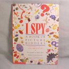 1992 I SPY BOOK OF PICTURE RIDDLES HARDCOVER