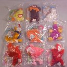 1996 LOT OF McDONALDS TY TEENIE BEANIES MIP