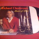 RICHARD CLAYDERMAN MUSIC OF LOVE 33 RPM LP RECORD
