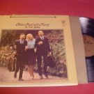 1963 PETER PAUL & MARY IN THE WIND 33 RPM LP RECORD
