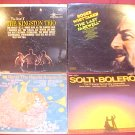 4 33 RPM LP RECORDS ROGER WHITTAKER KINGSTON TRIO