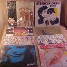 LOT OF 8 ROCK FUNK 33 RPM LP RECORDS GRACE JONES