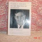 1992 PITIRIM SOROKIN ON THE PRACTICE OF SOCIOLOGY BOOK
