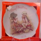 1979 MERRY CHRISTMAS HOLLY HOBBIE COLLECTOR PLATE MIB
