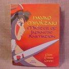 1999 NAYAO MIYAZAKI MASTER OF JAPANESE ANIMATION BOOK