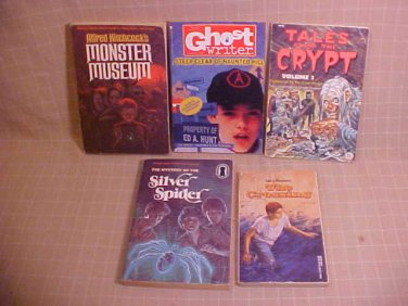 LOT OF 5 MISTERY THRILLER YOUNG ADULT BOOKS