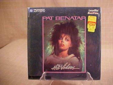 "Pat Benatar Hit Videos 8"" LD Laserdisc"