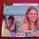 AMERICAN SIGN LANGUAGE 2 CD SET #1 IN THE USA