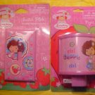 NEW STRAWBERRY SHORTCAKE SWITCH PLATE & NIGHT LIGHT SET