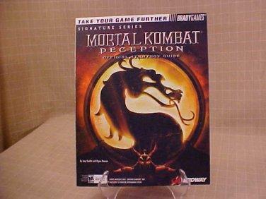 2004 MORTAL KOMBAT SIGNETURE SERIES GUIDE GAME BOOK