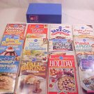 1988 PILLSBURY CLASSIC COLLECTION COOKBOOKS #84-95