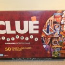 2005 Clue Mysteries Decoding Detective Game 50 Compelling Cases Complete