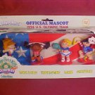 1996 CABBAGE PATCH KIDS OLYMPIKIDS MASCOT FIGURE SET