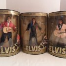 "Lot Of 3 NRFB Hasbro 1993 12"" ELVIS DOLL Teen Idol The Sun Never Sets"