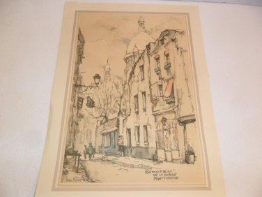 Vintage Donald Art Co. N.Y. Inc. print