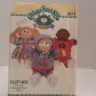 Butterick Cabbage Patch Kids Clothes sewing Pattern #6511 uncut