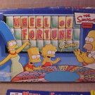 2004 Pressman The Simpsons Wheel of Fortune Board Game