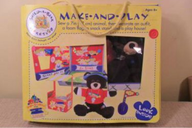 "Build-A-Bear Workshop Make and Play Set: Make a 9"" Bear"