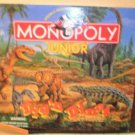 1990 Monopoly Junior Dig'n Dinos Board Game