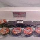 1999-2000 DETROIT RED WINGS HOCKEY TOWN 5 PC PUCK SET