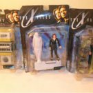 MIB 1998 Lot Of 3 THE X FILES SERIES 1 ACTION FIGURE Set