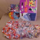 LOT OF DISNEY MULAN BLOCK BUSTER FINGER PUPPETS